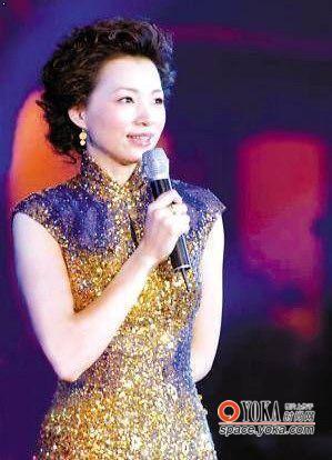 董卿08年最令人惊艳的旗袍造型-名嘴 周涛 董卿的春晚礼服大盘点