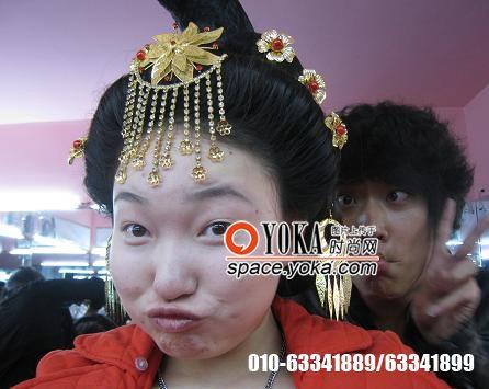 化妆作品 易茗造型的时尚博客 YOKA时尚博客图片